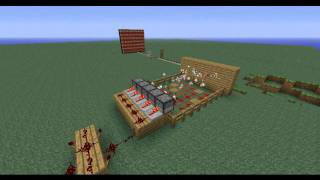 Minecraft - Rube Goldberg Machine