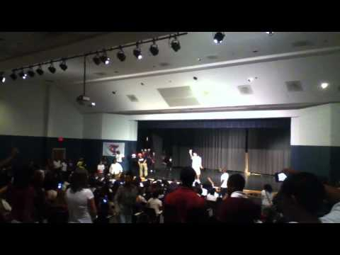 emmanuel and phillip come to lindley middle school 7th and