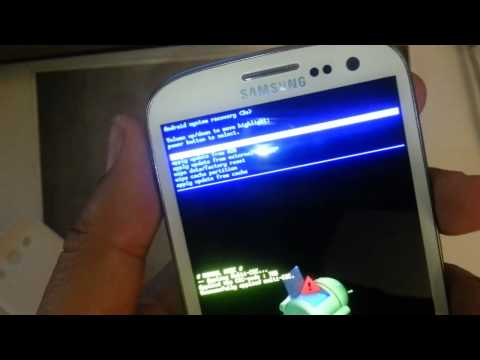 Samsung Galaxy S3 T-mobile: HARD RESET PASSWORD REMOVAL FACTORY