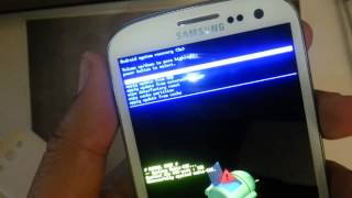 Samsung Galaxy S3 T-mobile: HARD RESET PASSWORD REMOVAL FACTORY RESTORE how-to