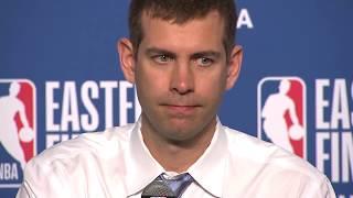 Brad Stevens Postgame Interview - Game 3 | Celtics vs Cavaliers | 2018 NBA East Finals