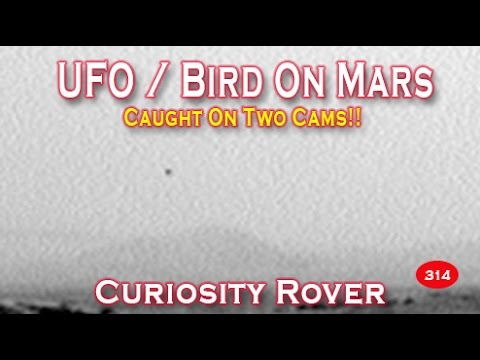 UFO / Bird Caught On Mars By Two Cameras! NASA Curiosity Rover