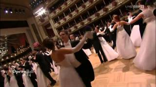 Waltz debutants Opera Ball 2014 in Vienna