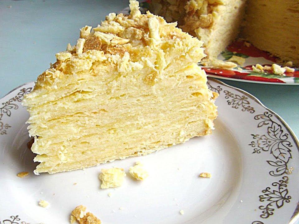 торт наполеон в домашних условиях классический рецепт