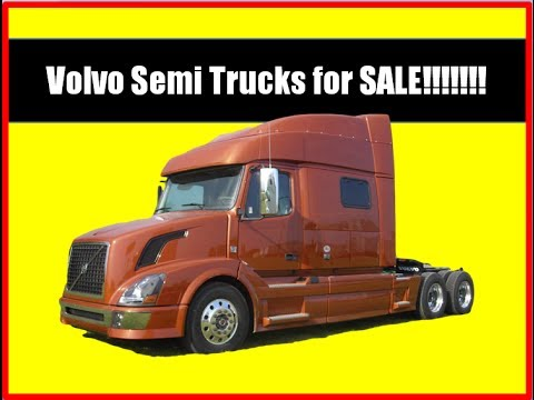 Volvo Semi Trucks for Sale