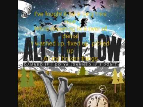 All Time Low Damn If I Do Ya (Damned If I Don't) (lyrics)