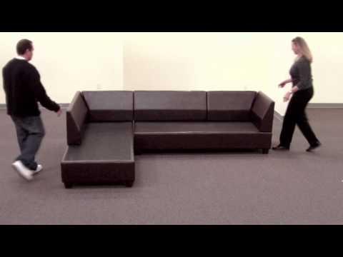 Bobkona Sectional Sofa Reversible Assembly Music Videos
