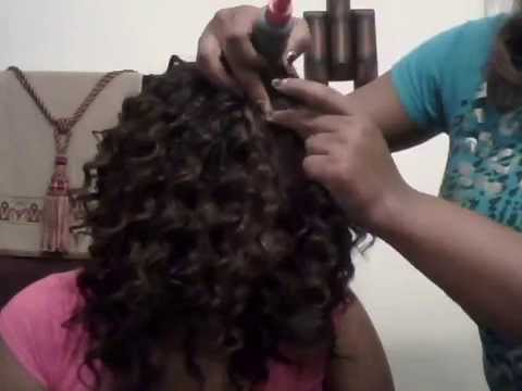 Quick Weave Invisible part and Closure video 1