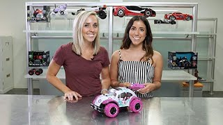 Pixie Cruiser Pink and Purple RC Remote Control Car Toy for Girls with Off-Road Grip Tires