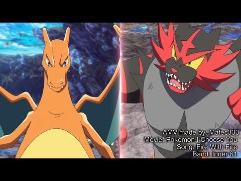 Cover Lagu Charmeleon / Charizard Vs Incineroar -HD- Pokemon I Choose You AMV
