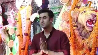 Ranbir Kapoor Celebrates Durga Puja
