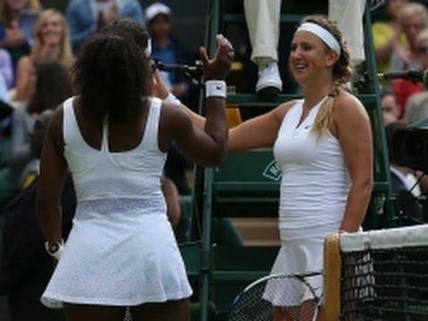 Serena Williams beats Maria Sharapova to reach Wimbledon final – as it happened