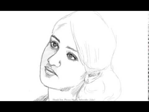 How To Draw An Indian Girl video