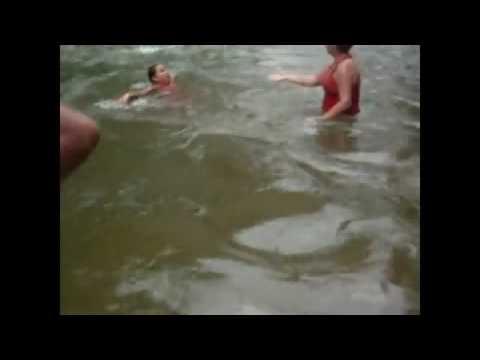 ahogadas en familia. en el Dique de Choroni.
