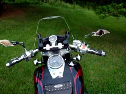 Honda Shadow Spirit 750 walk around Video