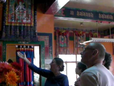 Dalai Lama temple and the monastery at Norbulinka Dharamsala