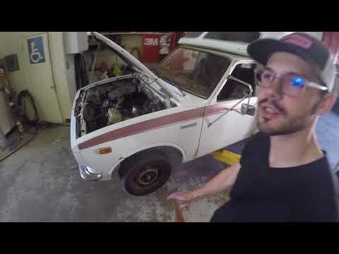 1977 Toyota Chinook Build 1uz V8 Swap Series Part 2: Gut the Engine Bay