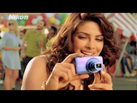 Priyanka Chopra in new Ad of Nikon COOLPIX di...