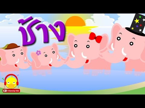 เพลงช้างตัวใหญ่ ♫ เพลงเด็กอนุบาล Indysong Kids