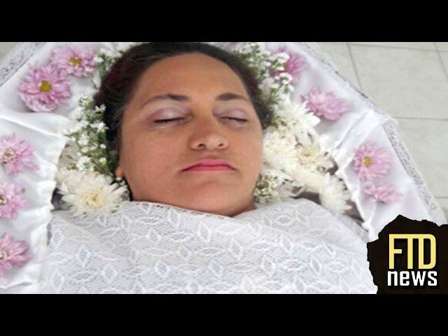 This Woman Staged Her Own Funeral... For Fun!