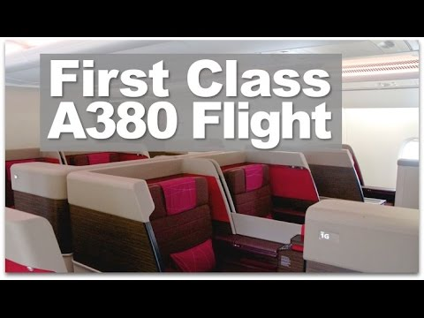 A380 First Class | Review of Malaysia Airlines A380 First Class Flight