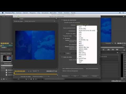 Curso Fundamental de Premiere Pro CS6: 10.2. Formatos de exportación