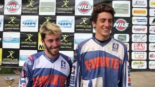 Sidecar Cross 2015: Intervista a fine gara Compalati Piana