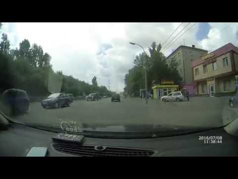 Авария на Елизаровых Томск 08.07.16