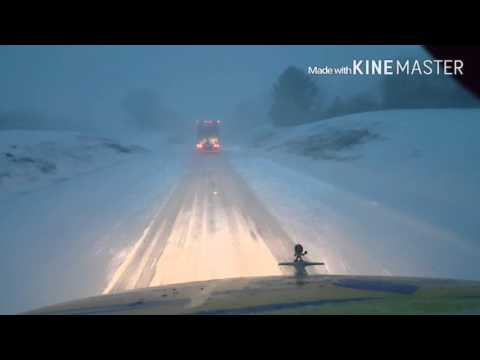 Prime Inc Trucking: Driving in Winter Storm Jonas