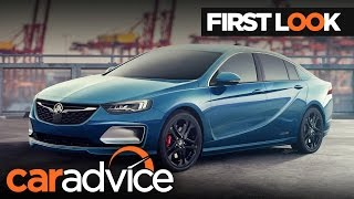 2018 Holden Commodore/Opel Insignia: First Look Review | CarAdvice