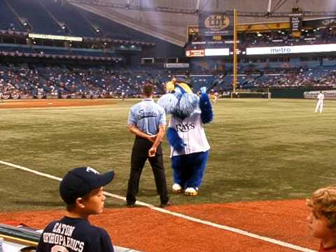 Raymond Messing with Erik @ Tropicana Field Video