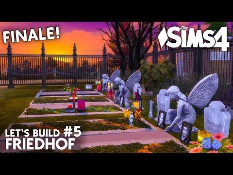 Die Sims 4 Friedhof bauen #5 | Grusel Grundstück mit Herz (deutsch)