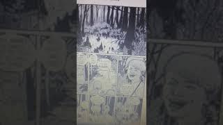 Me reading The Werewolf Of Fever  Swamp comic strip in this graphix comic Goosebumps Creepy Creature