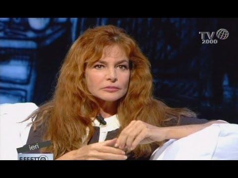 Giuliana De Sio ospite di Effetto Notte (Tv2000)