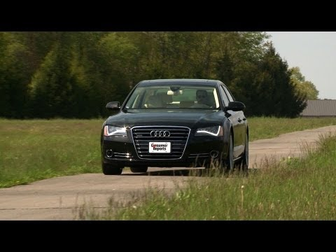 Audi A8 review from Consumer Reports
