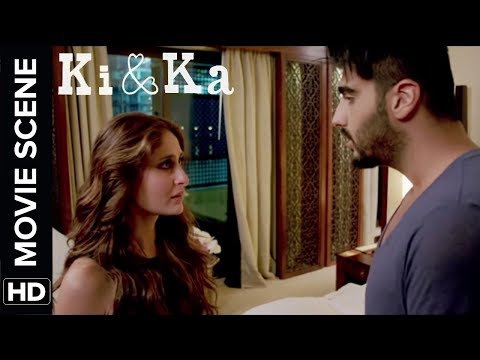 Kareena Slaps And Sleeps With Arjun | Ki & Ka | Movie Scene