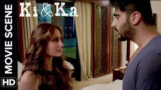 Kareena's frustration level | Ki & Ka | Movie Scene