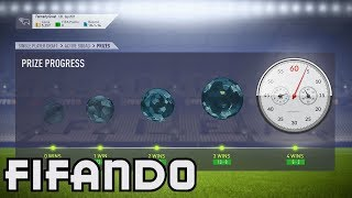 O DRAFT MAIS RÁPIDO DO MUNDO NO FIFA 18 - FIFANDO