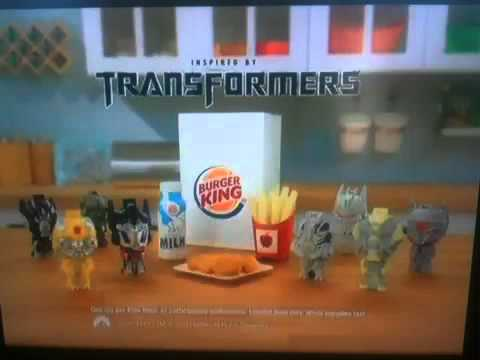 Transformers Dark of The Moon Burger King Transformers Dark of The Moon