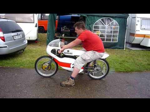 Yamaha Fs1 50cc racer - YouTube Yamaha Fs1