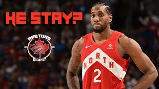 Kawhi DECLINES Player Option - SERIOUSLY Considering Re-Signing With RAPTORS