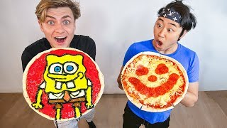 BEST PIZZA ART WINS $10,000 (PIZZA ART CHALLENGE)