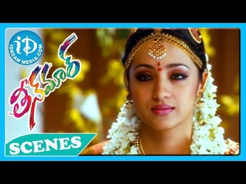 Pawan Kalyan Trisha Emotional Scene - Teenmaar Movie