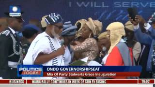 Politics Today: Akeredolu Becomes New Number One Man