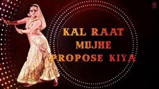 Saiyaan Superstar' Full Song with Lyrics _ Sunny Leone _ Tulsi Kumar _ Ek Paheli Leela ( 1080p )