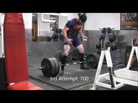 Layne Norton Squat, Bench, Deadlift Test Day 2-15-2014