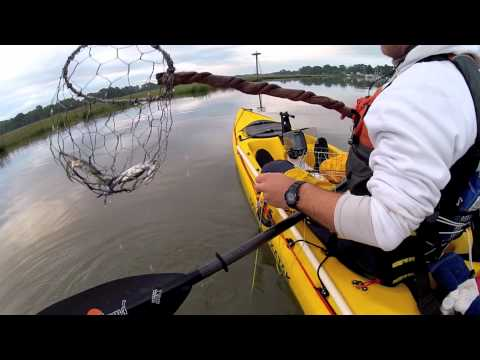 Kayak Crabbing- Chesapeake Bay