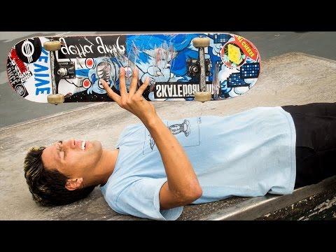 LEARNING DISASTER FLIPS! 5 New Skate Tricks!