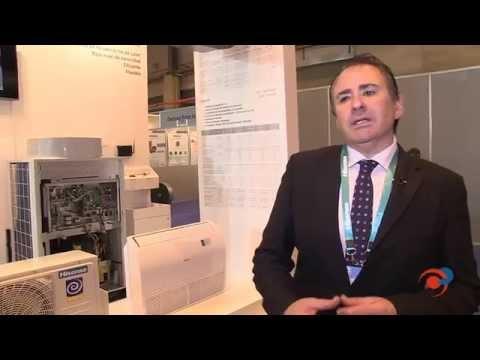 Gamas de aire acondicionado doméstico y comercial de alta eficiencia energética de Hisense
