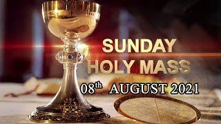 Sunday Holy Mass  English - Live  ( 08-8-2021 )